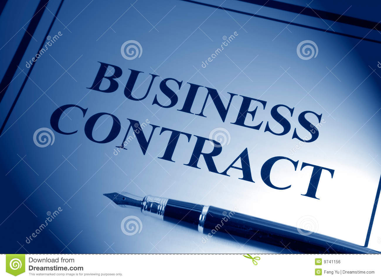 Business Contract Royalty Free Image Image 9741156 – Business Contract