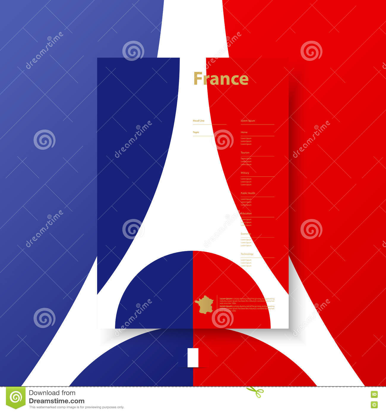 Business Corporate Templates For Flyers Brochure Report France