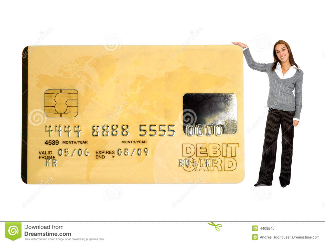 Business Credit Card Stock Image