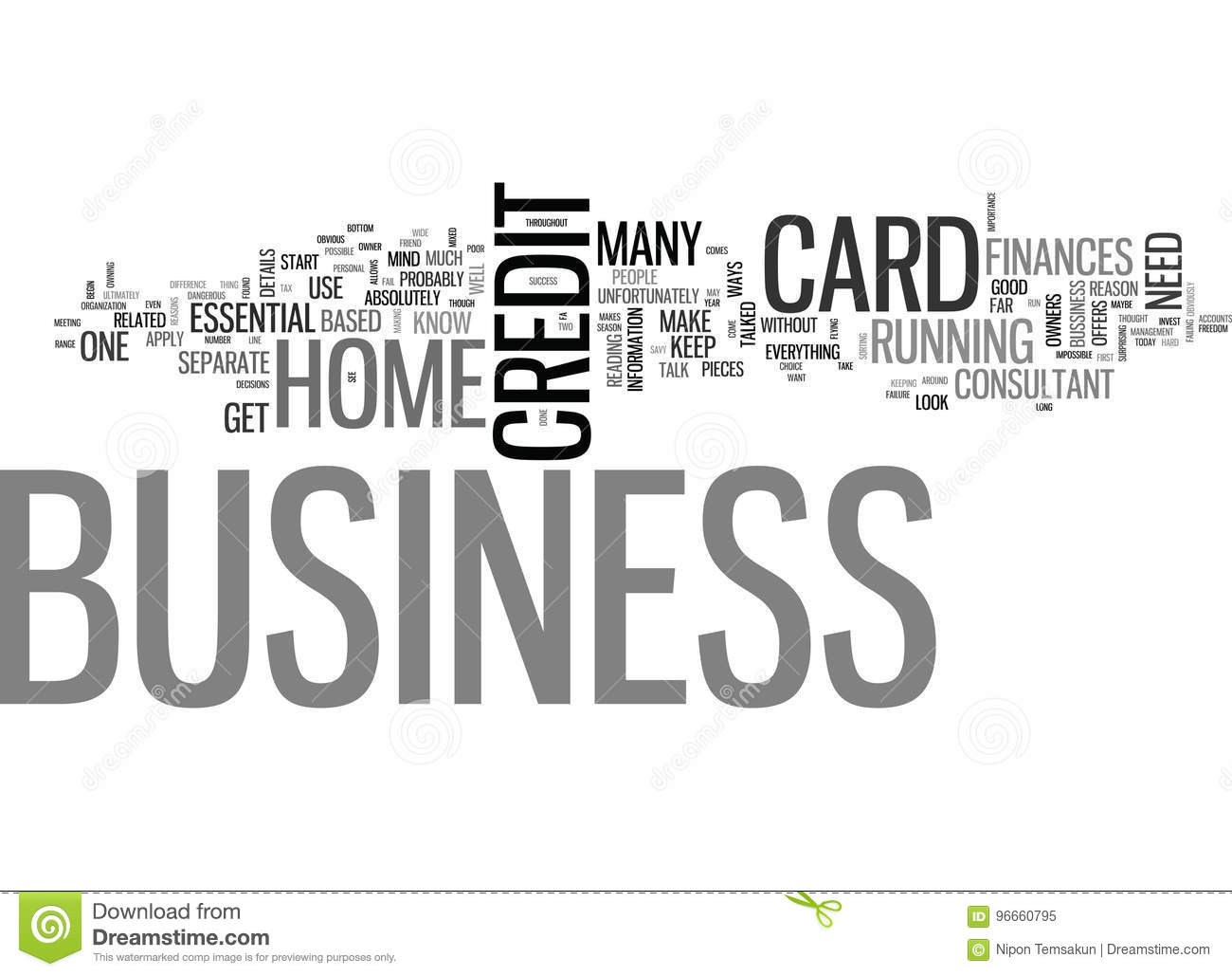 A business credit card is essential word cloud stock illustration download a business credit card is essential word cloud stock illustration illustration of cloud reheart Choice Image