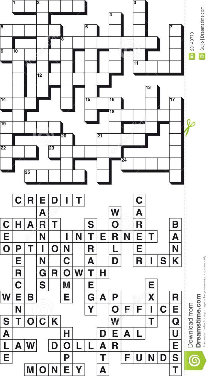 Stock options crossword clue