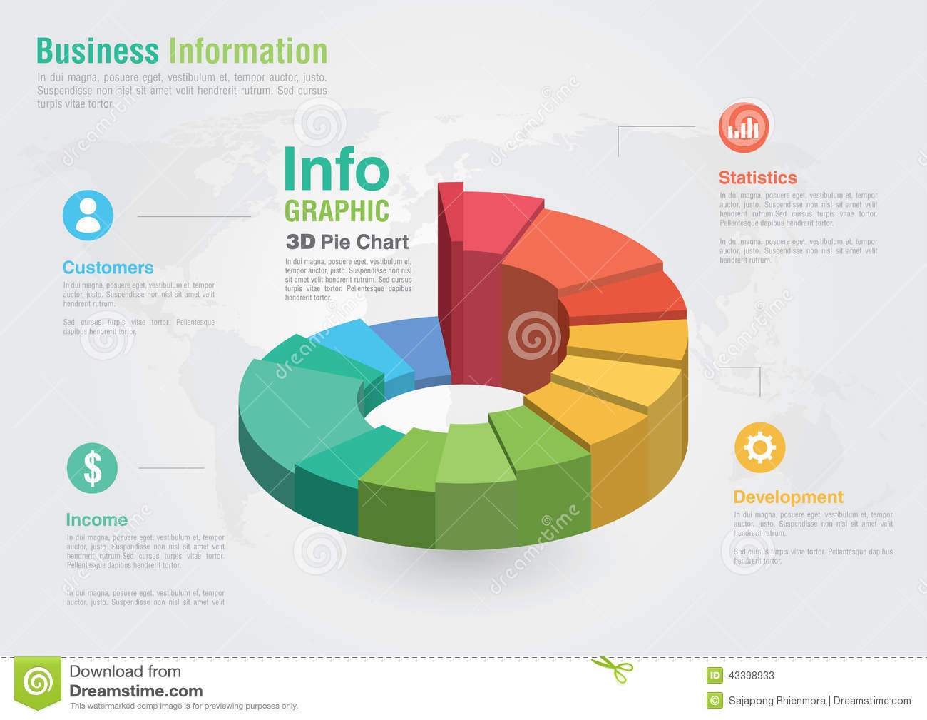 Business 3d pie chart infographic business report creative mark business 3d pie chart infographic business report creative mark nvjuhfo Image collections