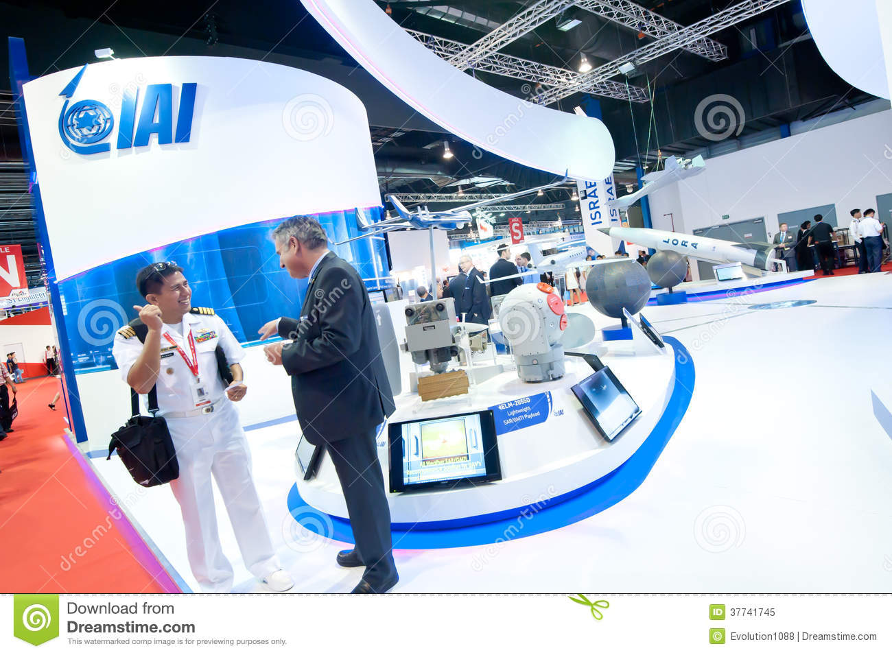 Business deals at the Singapore Airshow 2014