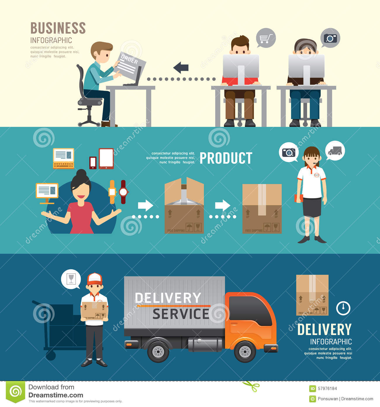 ... Process Flow Diagram Ppt Food Truck Business Plan PowerPoint Templates