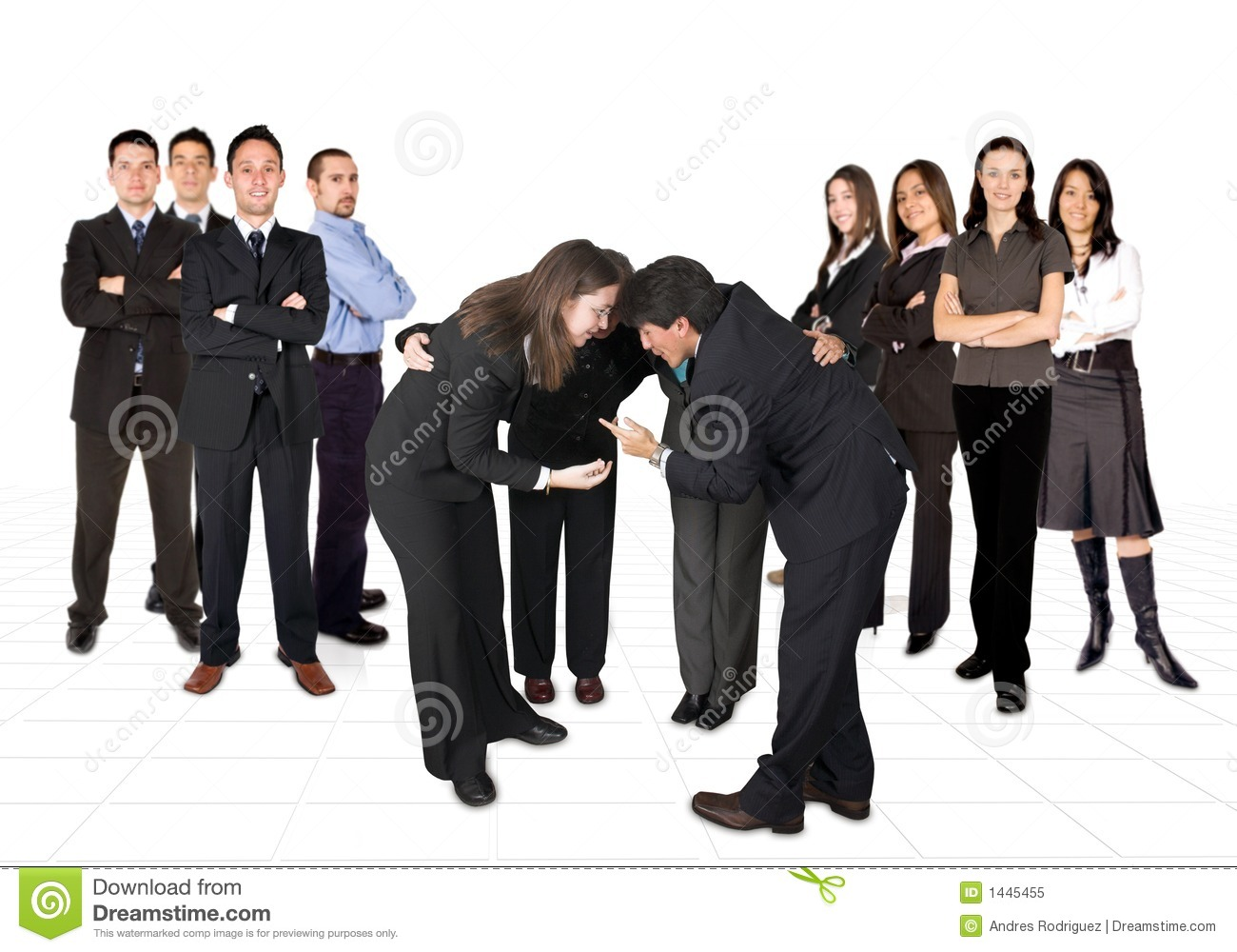 Royalty Free Stock Photo: Business developing team: www.dreamstime.com/royalty-free-stock-photo-business-developing...