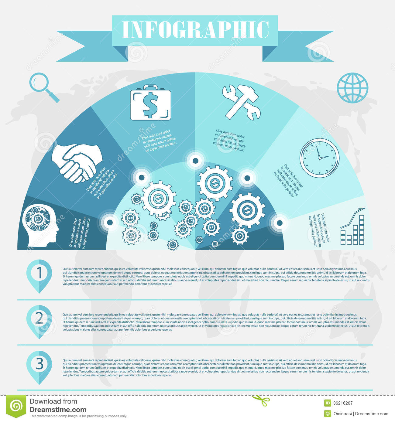Business Development Infographics Vector Royalty Free ...