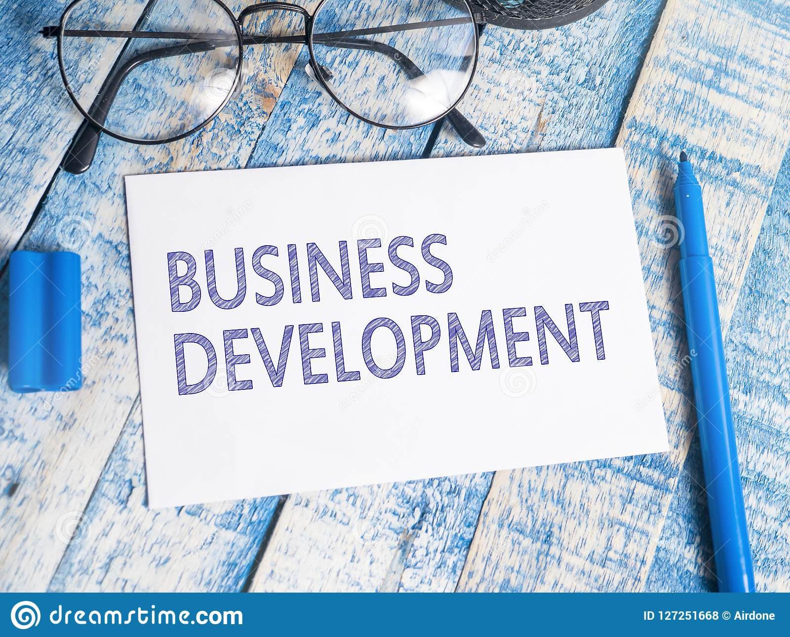 Business Development, Motivational Words Quotes Concept Stock