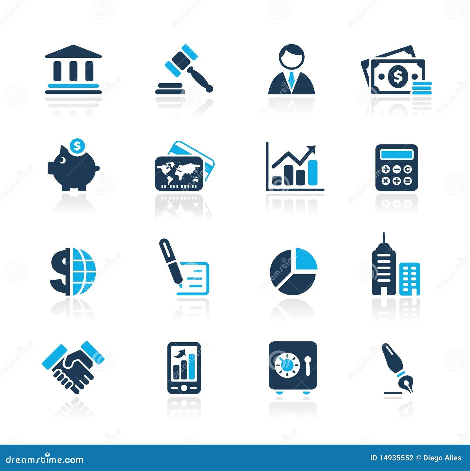 Download Business & Finance // Azure Series Stock Vector - Illustration of businessman, credit: 14935552