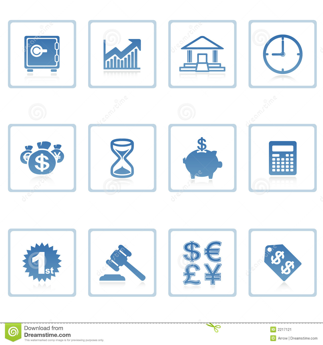 Finance: Business And Finance Icon Stock Illustration. Image Of