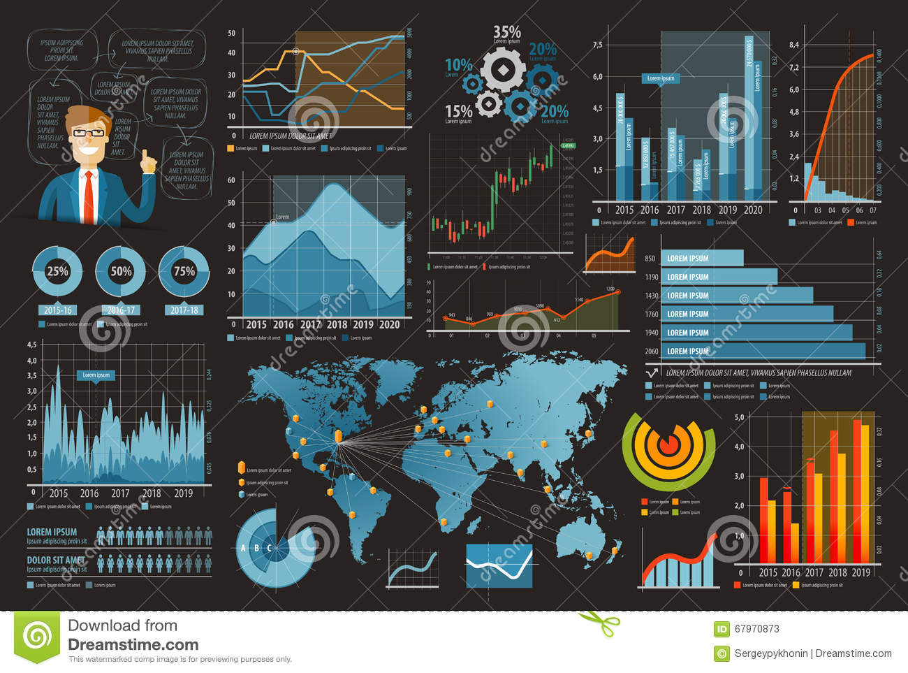 Business and finance template design infographic vector illustration business and finance template design infographic vector illustration set of charts graphs diagrams royalty free vector ccuart Gallery