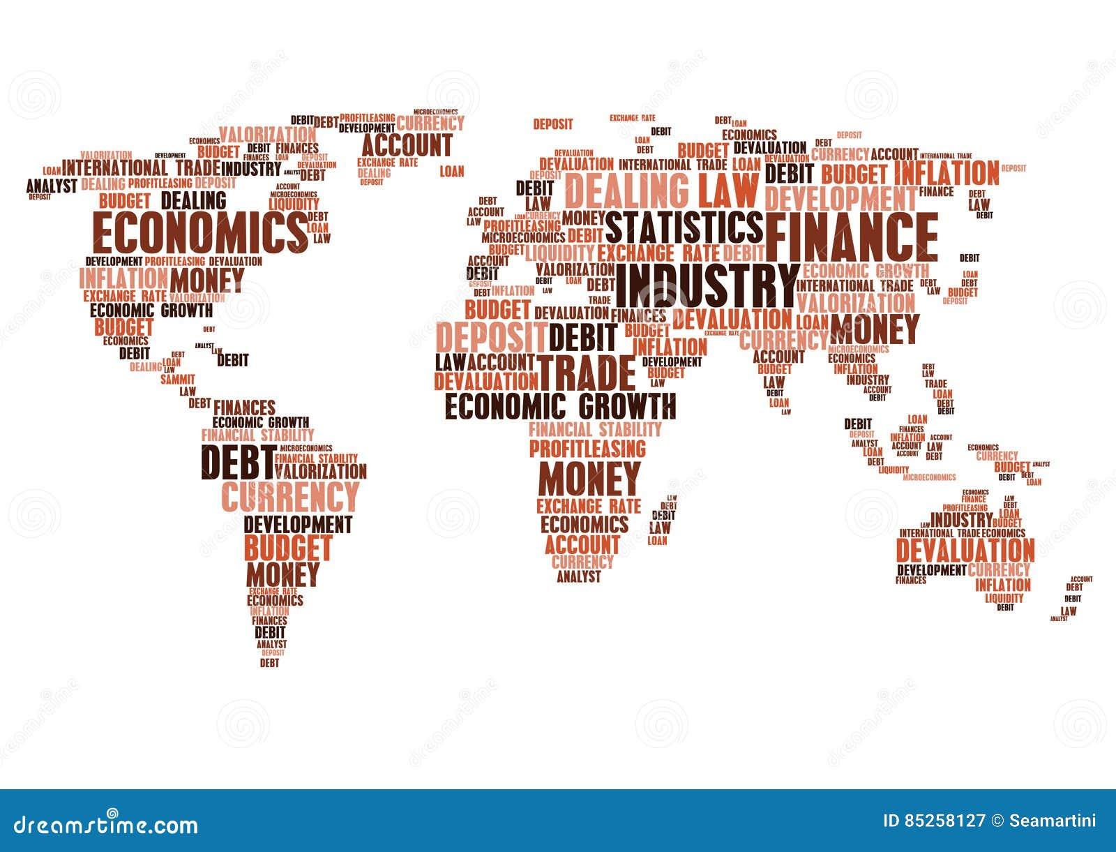 Business finance word cloud tags world map shape stock vector business finance word cloud tags world map shape gumiabroncs Choice Image
