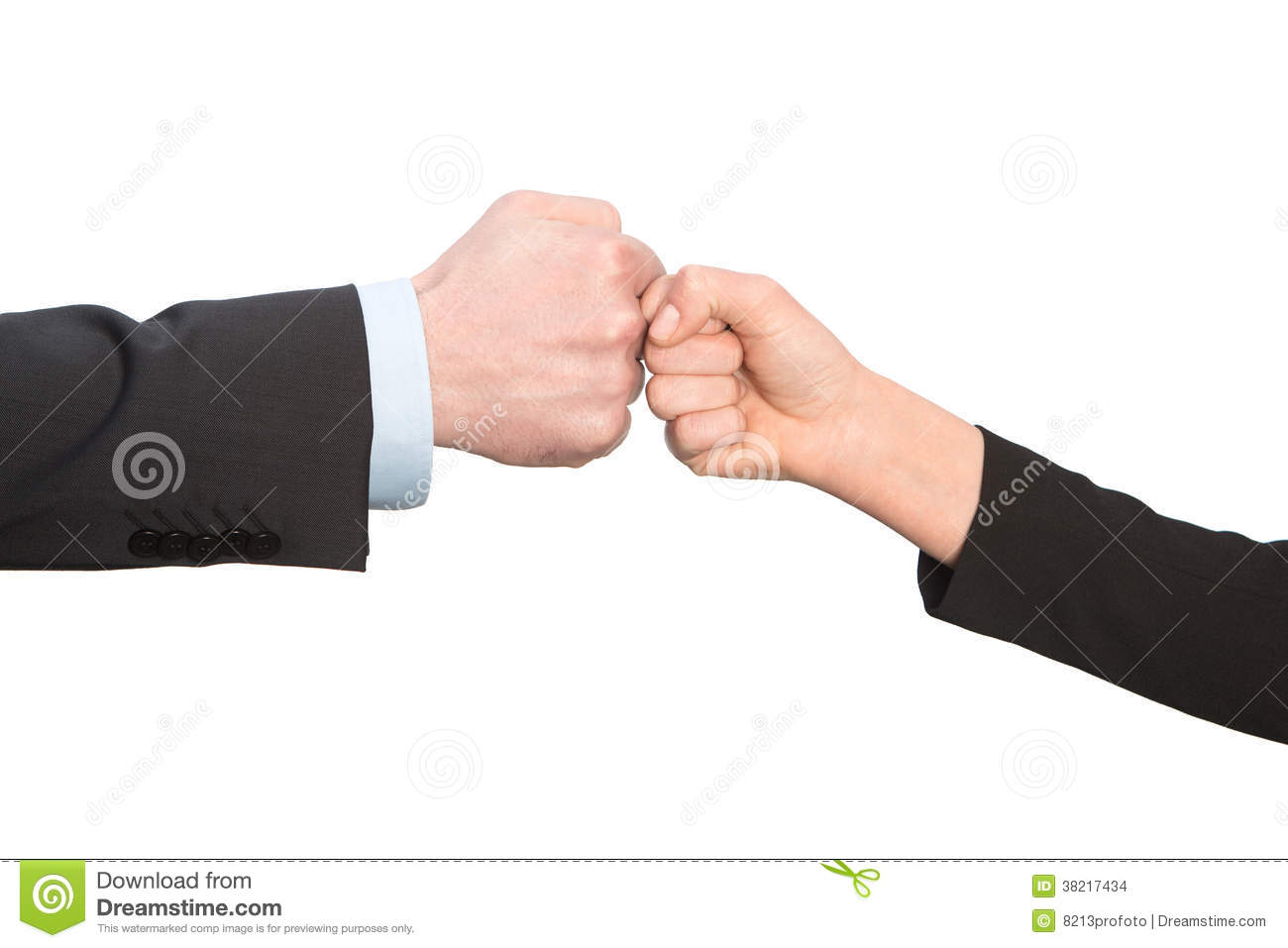 Business fist bump isolated on white background stock photo image business fist bump isolated on white background m4hsunfo