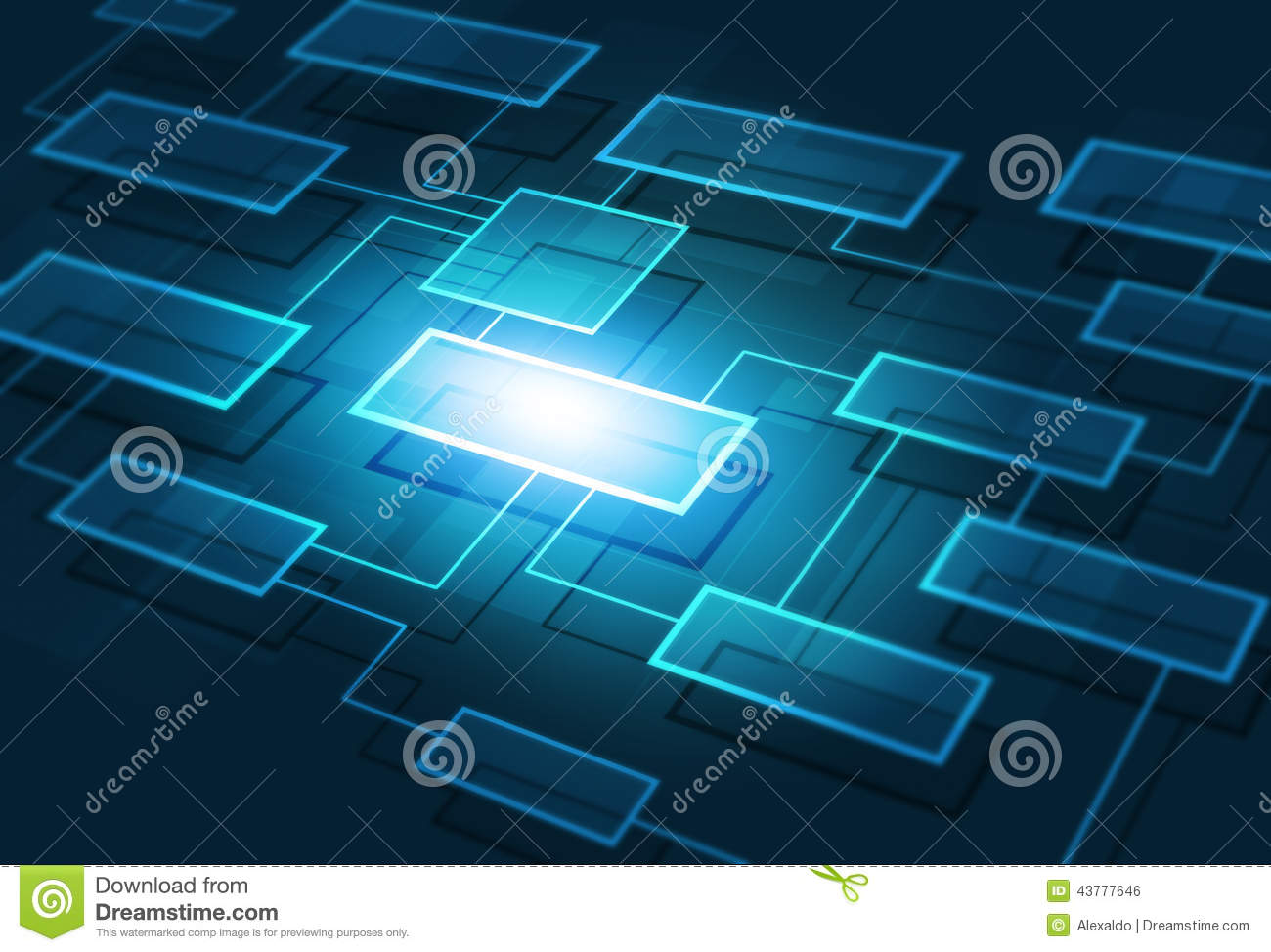Business       Flow    Chart Background Stock Photo  Image of