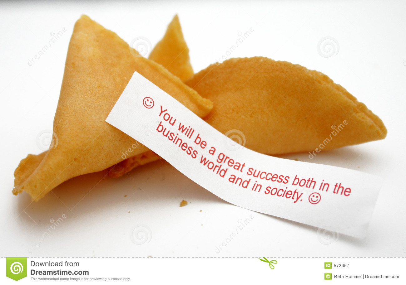Business Fortune Cookie Stock Image Image Of Cookie Luck