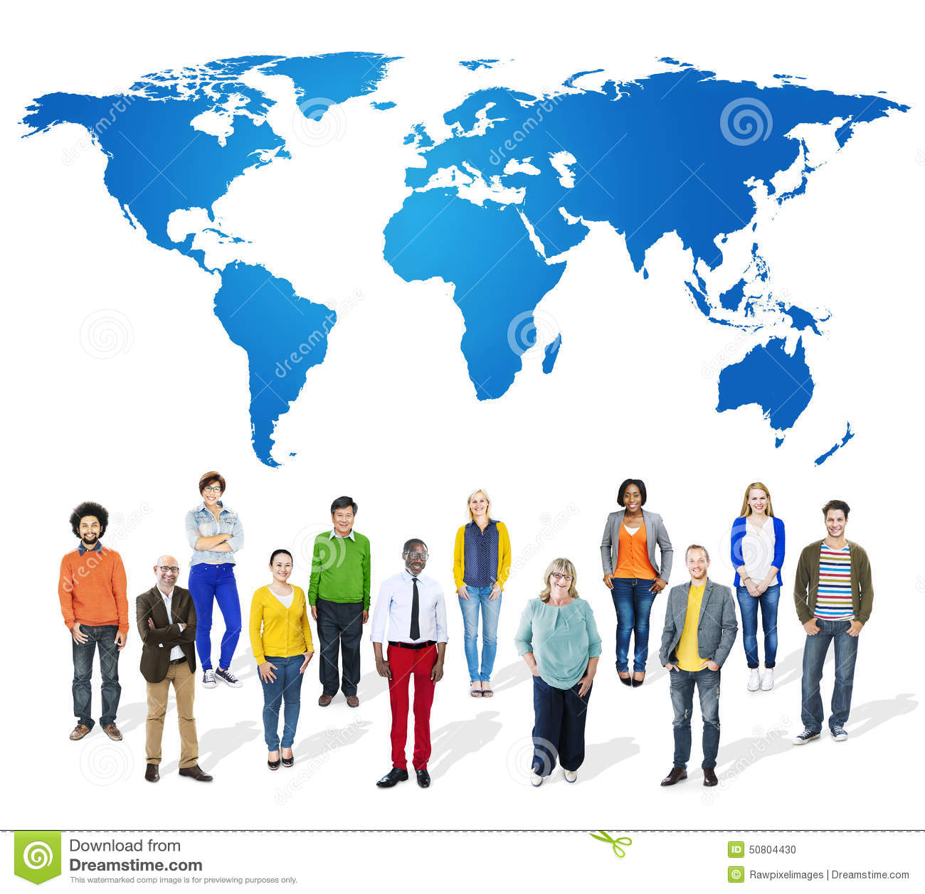 Business Global Collaboration Teamwork Concept Stock Photo - Image ...