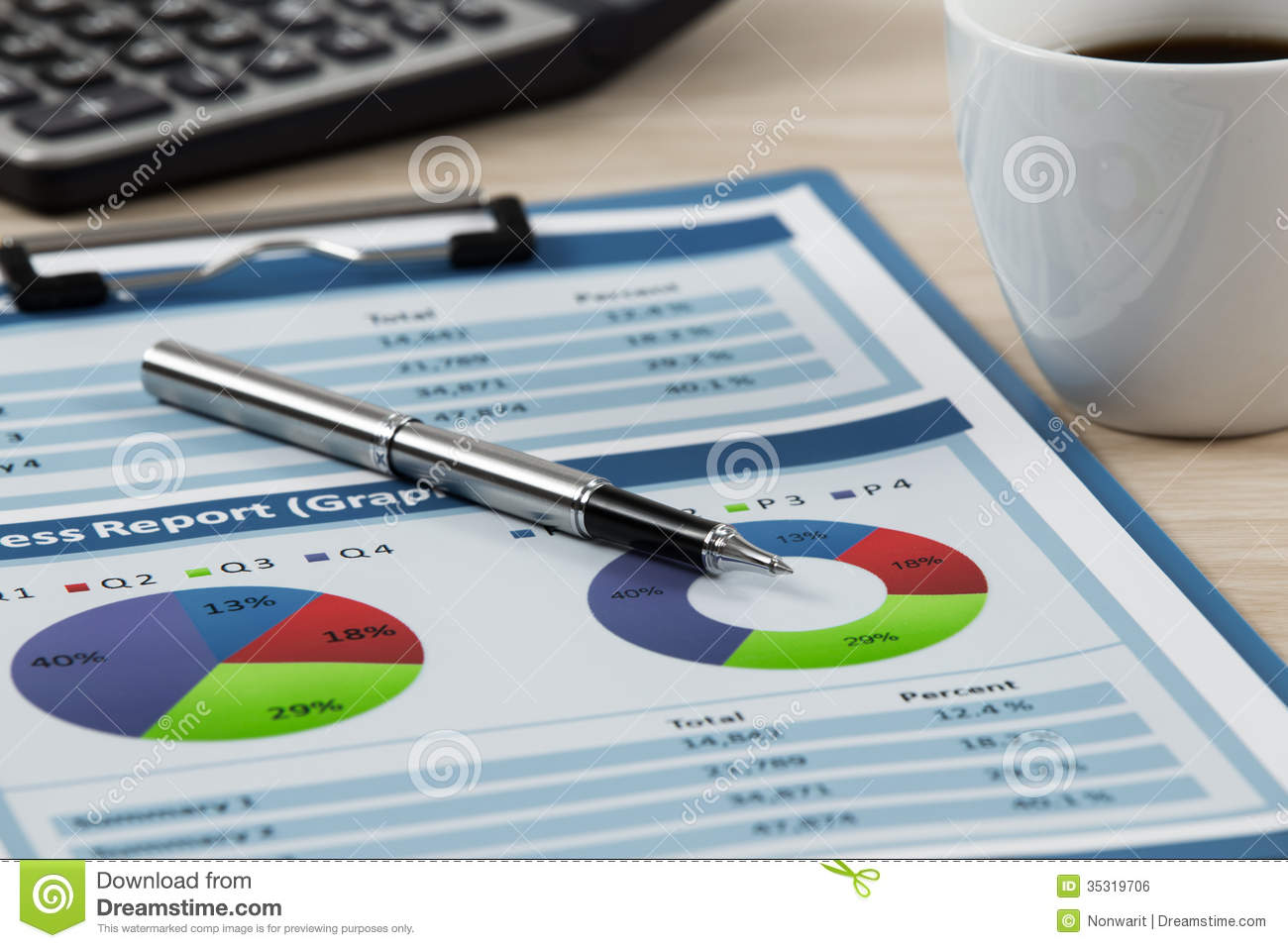 how to write a stock analysis report