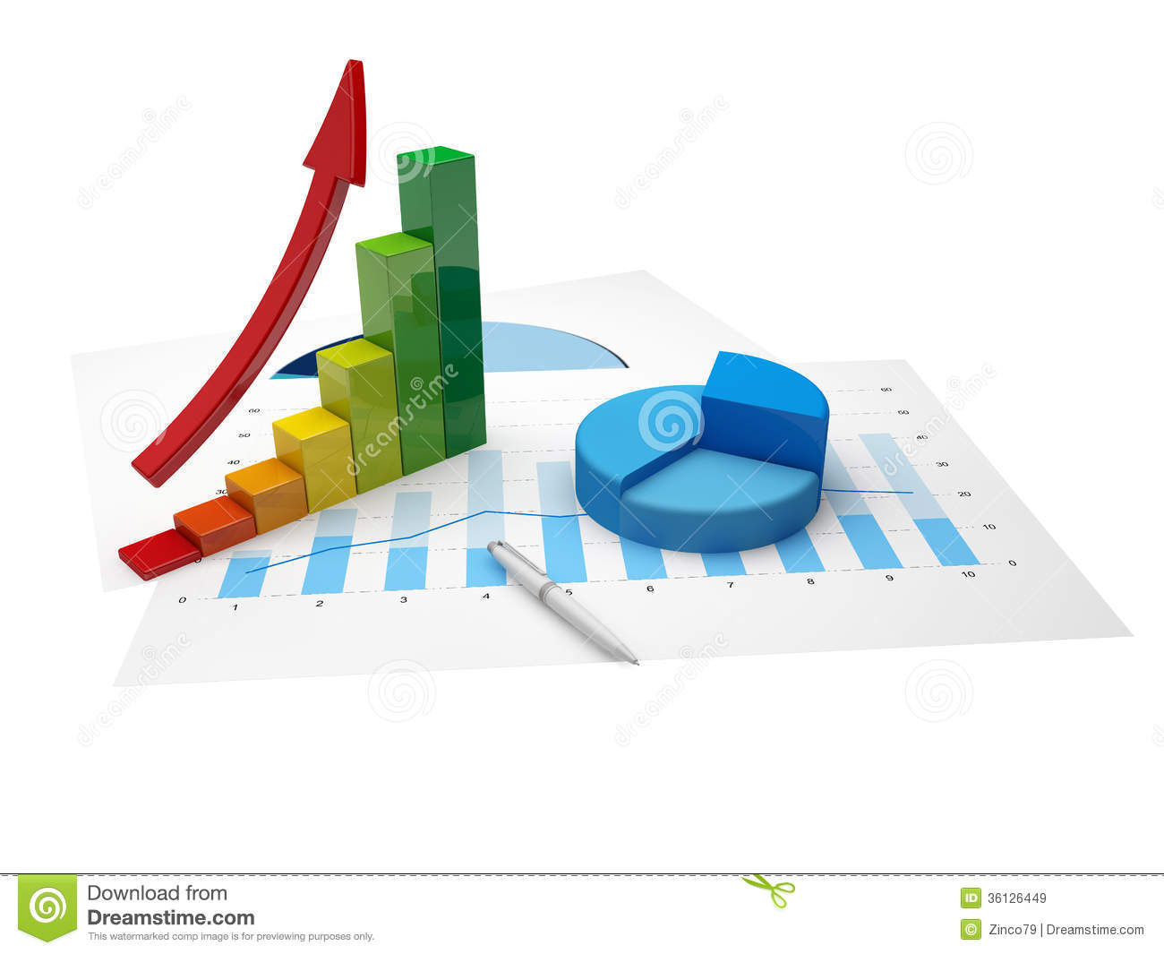 statistics chart and graph paper