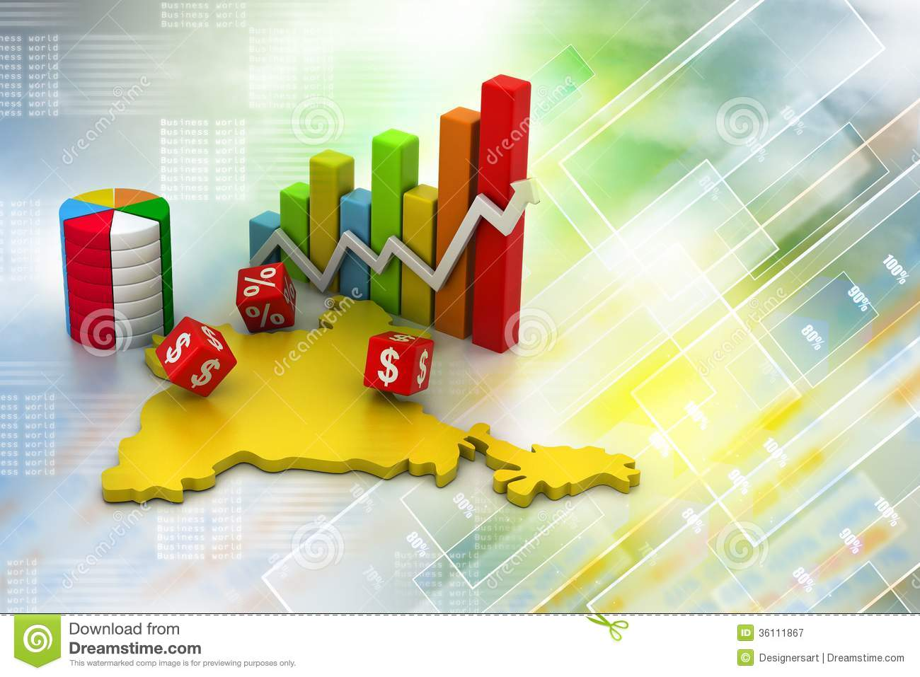 Justice scale stock image image 605751 - Business Graph With India Map Royalty Free Stock Photography