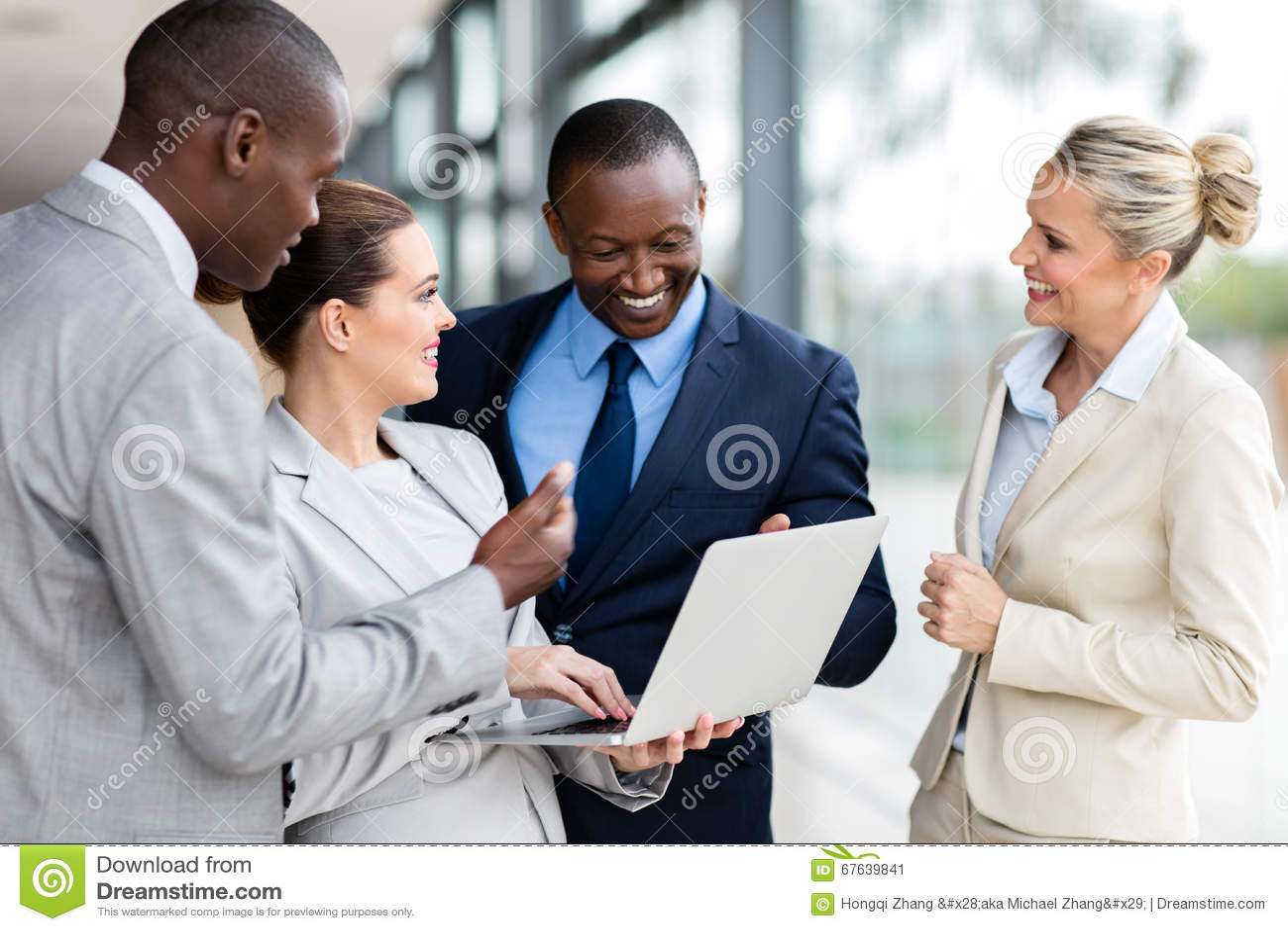 Business group laptop computer