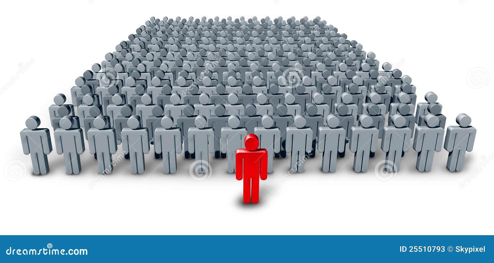 Business Group Leader Stock Illustration Illustration Of Company 25510793