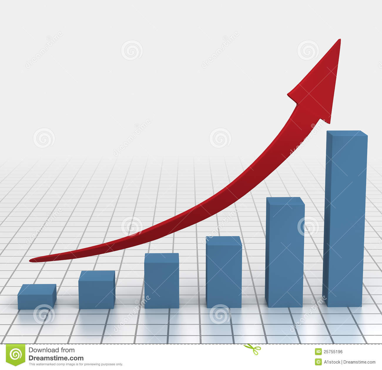 increase chart clipart