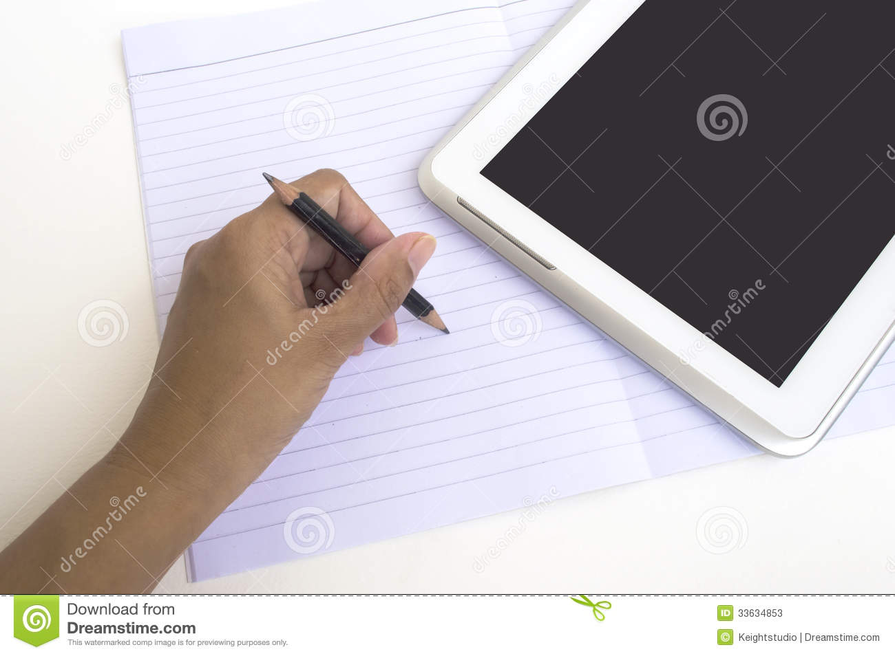 write on paper to ipad Hand writing directly on the ipad  a pad of paper in the case of the ipad,  rather than spending a lot of time tuning how you write to get lettering that.