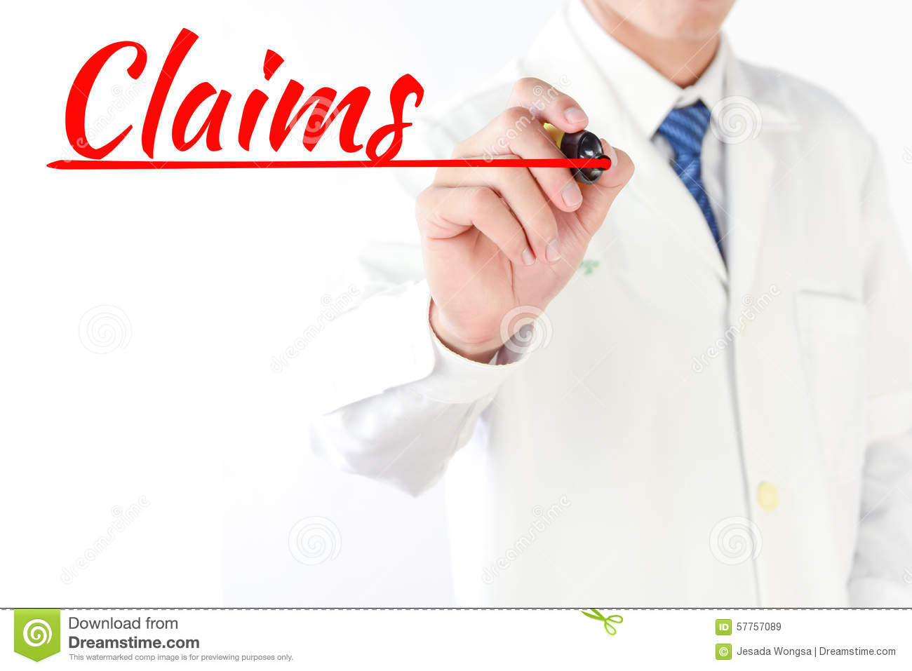 Writing claims