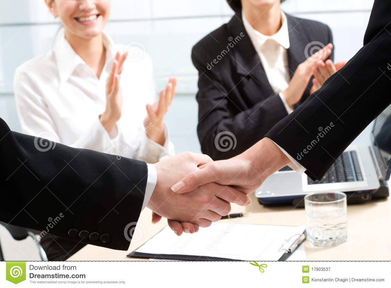 Business Handshake Royalty Free Stock Graphy Image