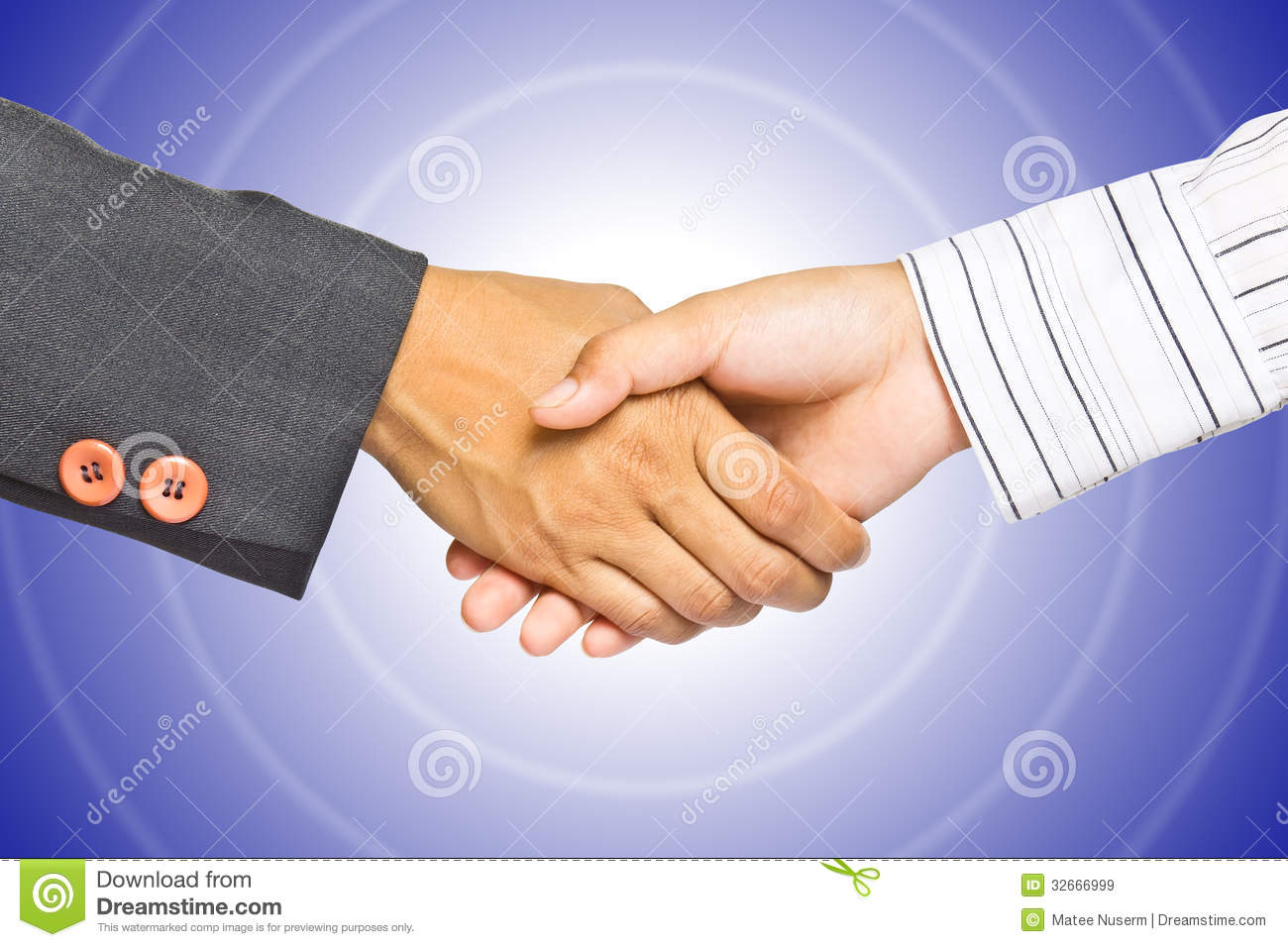Business Handshake Gra Nt Background Stock Image