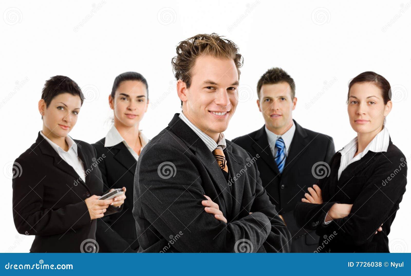 Business happy team