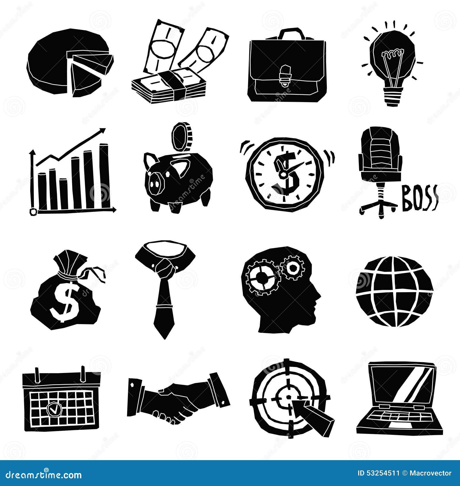 Piggy Bank Black And White Icon