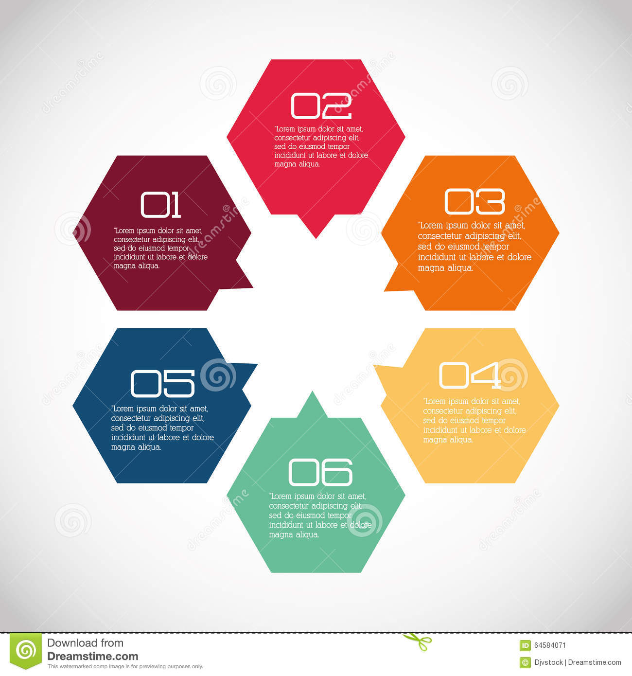 Business Infographic Design Stock Vector - Image: 64584071