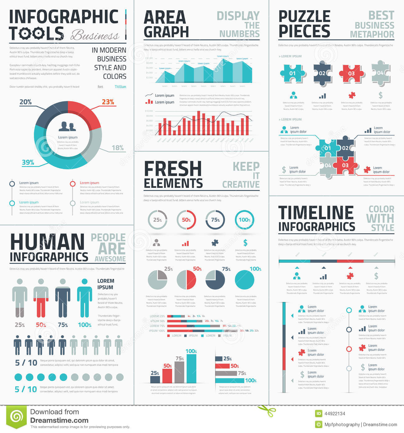 Business Infographic Elements Vector Illustration Stock ...