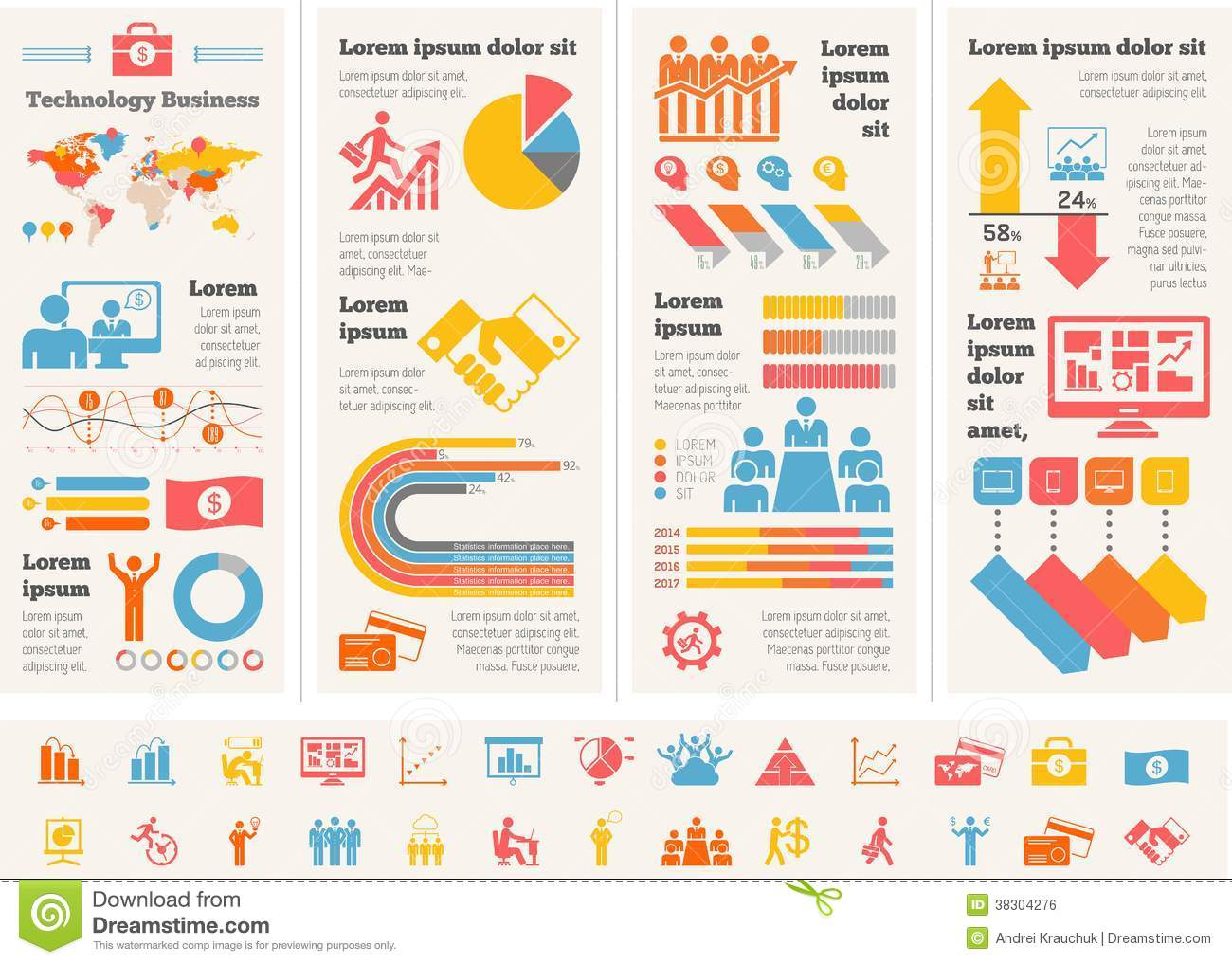 Business Infographic Template. Royalty Free Stock Image - Image ...