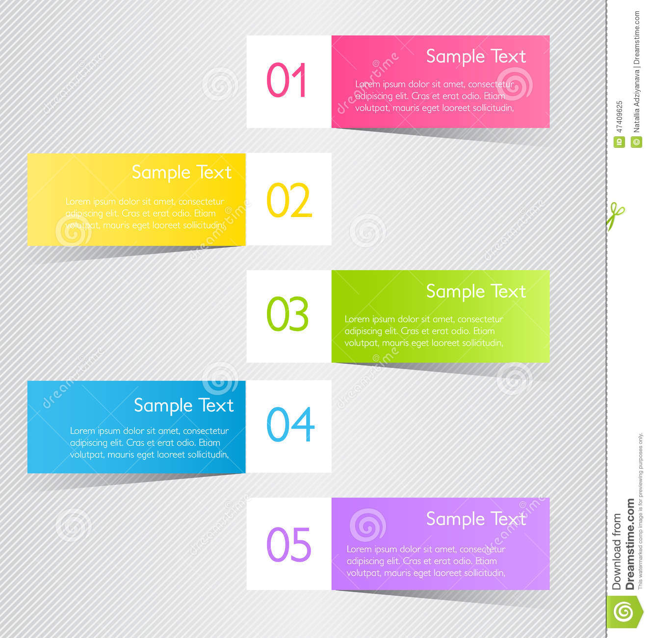 Business Infographic Template For Presentation, Education, Web ...
