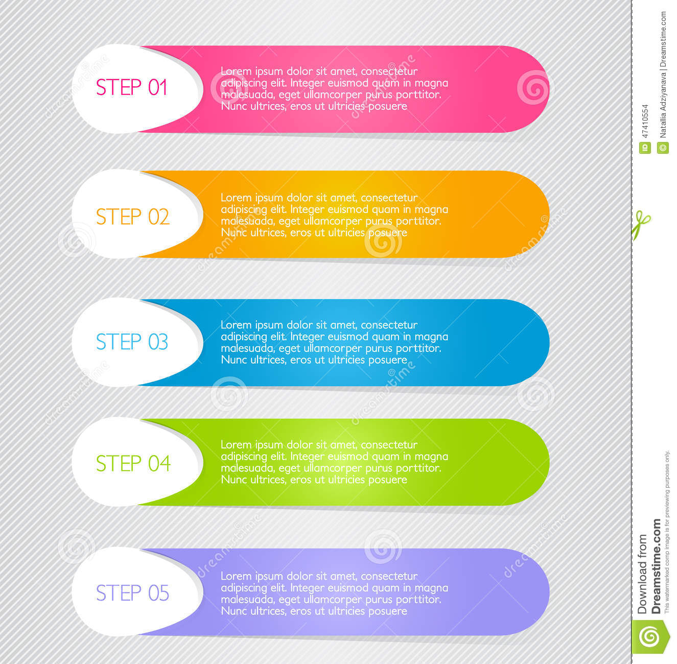 Business Infographic Template For Presentation Education