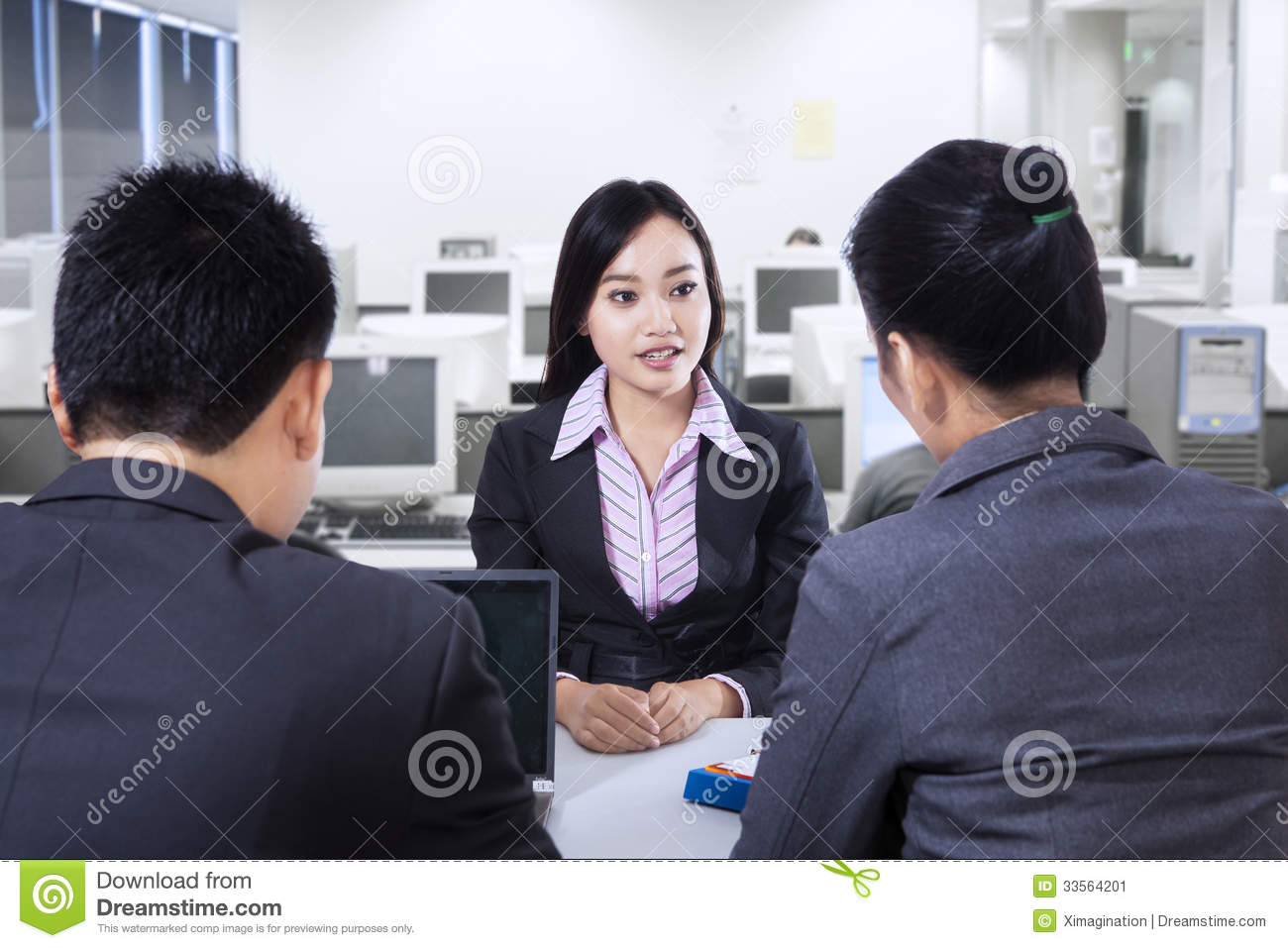 business interview stock image image  business interview