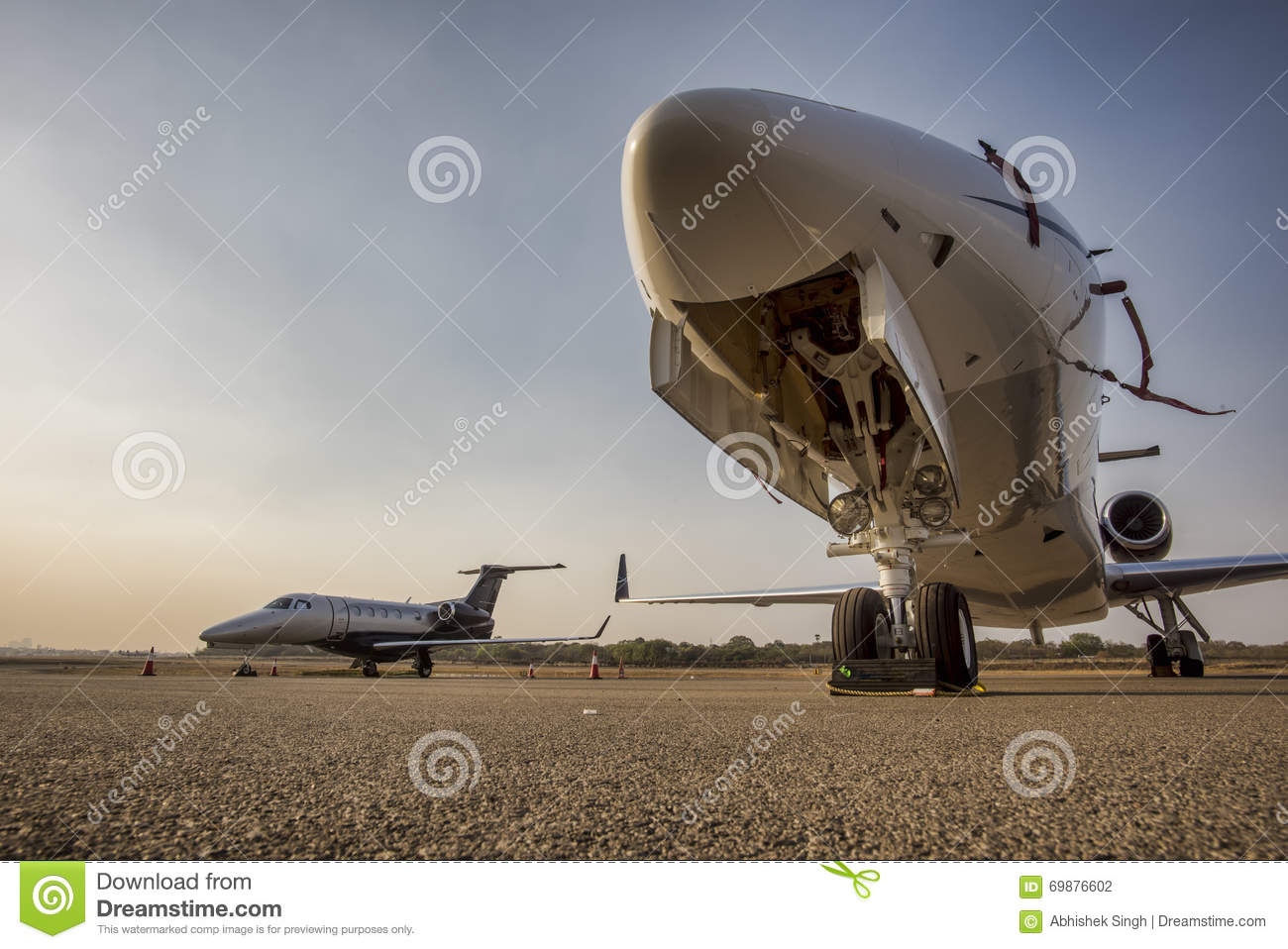 business jets stock photo image of undercarriage technology 69876602