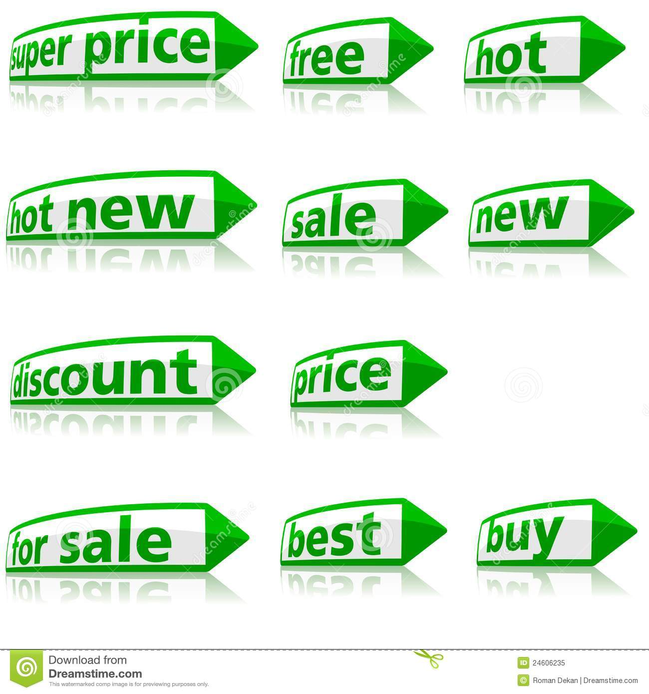 free business labels