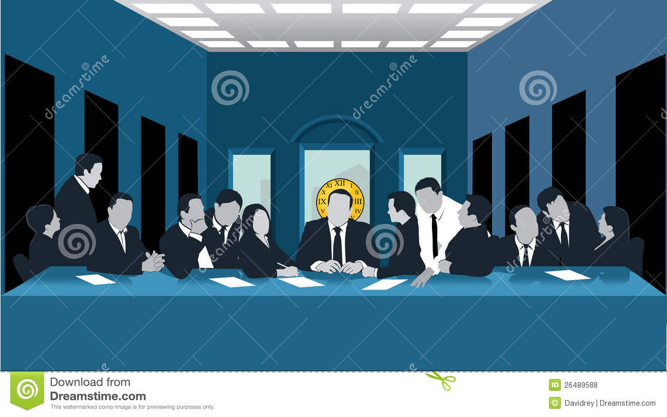 Business Last Supper Stock Vector Image Of Treason Table