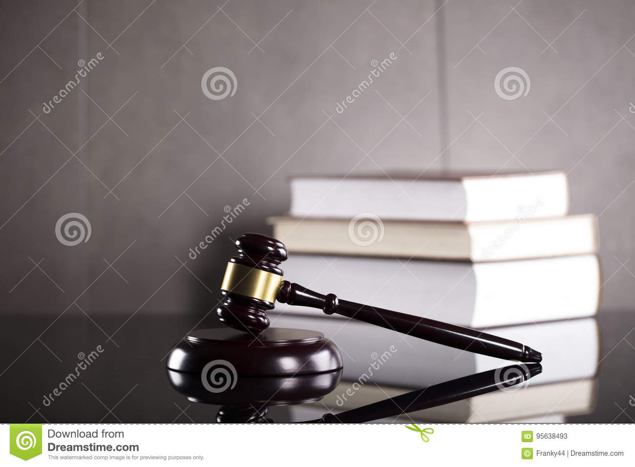 Business and law theme.