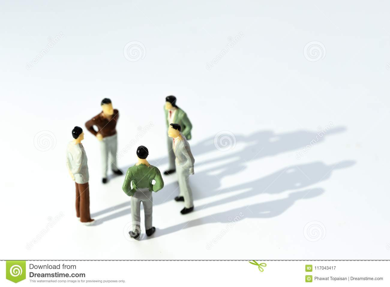 Business Leadership Teamwork Power And Confidence Concept Miniature People Businessman Small Figure Stock Image Image Of Organization Concept 117043417