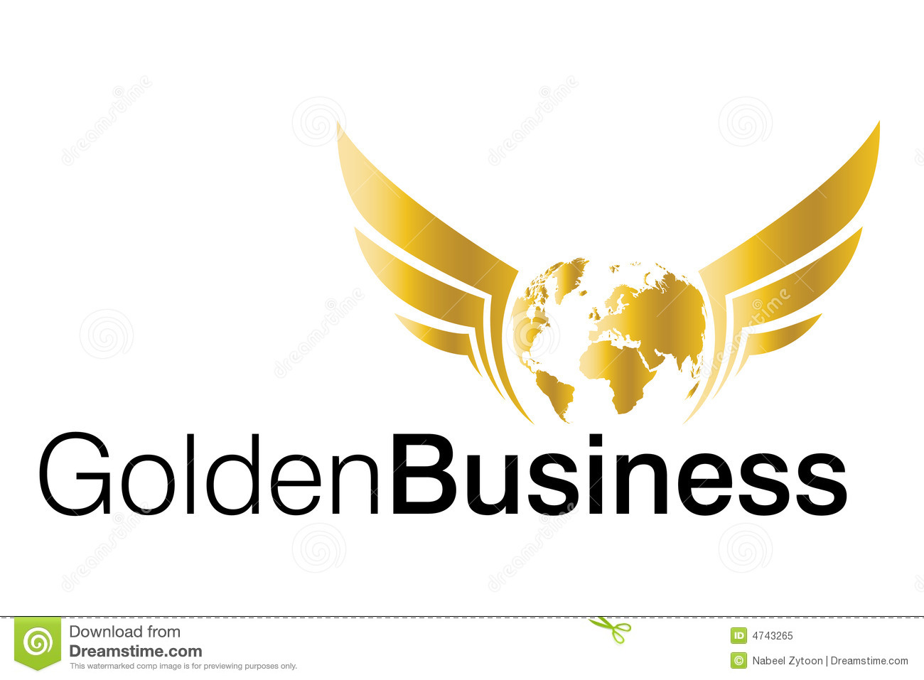 Business Logo Royalty Free Stock Photo - Image: 4743265