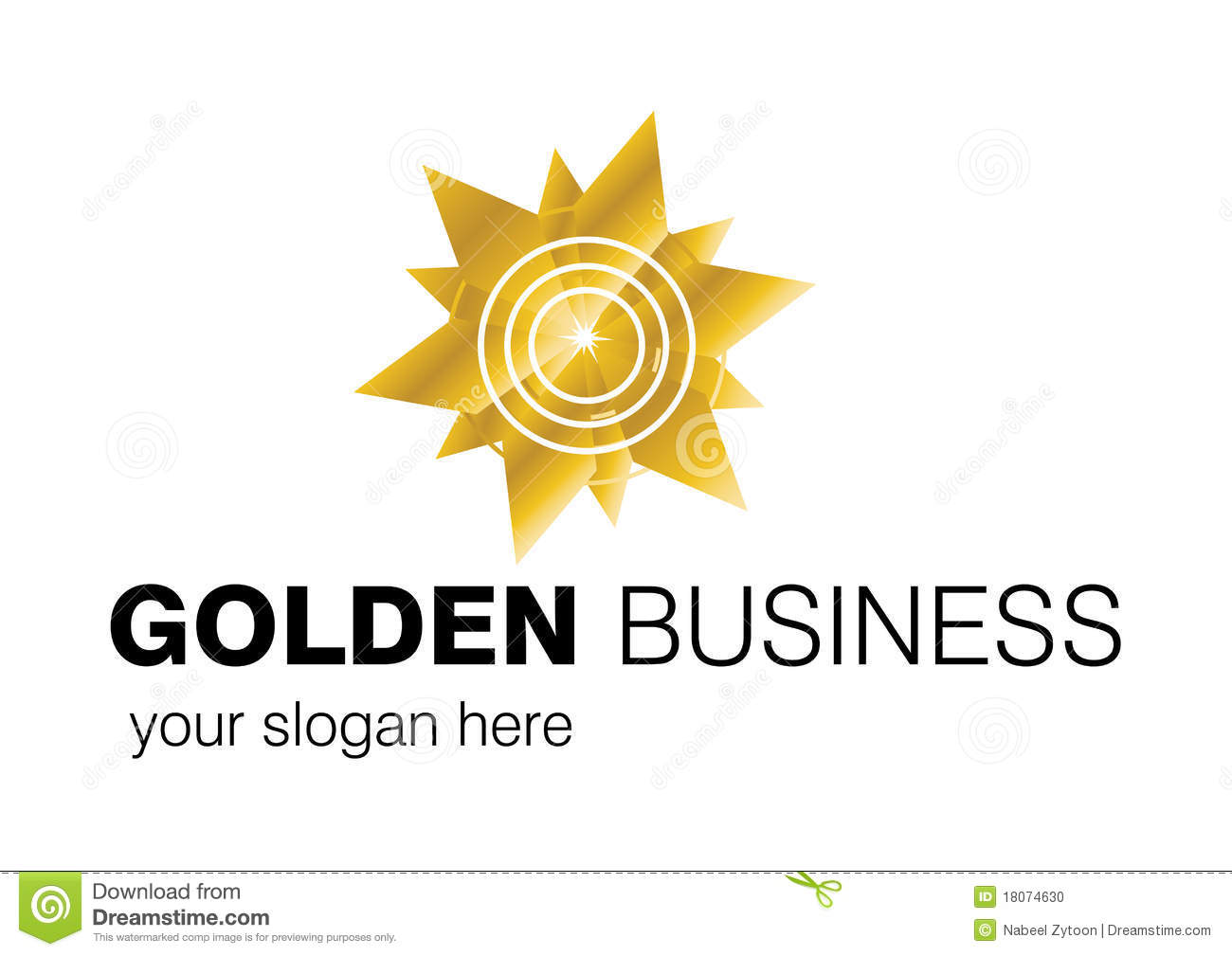 Business Logo Design Stock Vector Image Of Element Color