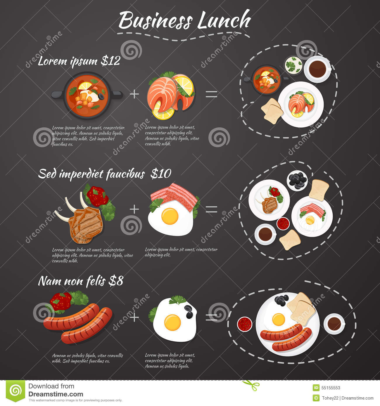 Business Lunch Menu Template Photos Image 22090773 – Lunch Menu Template