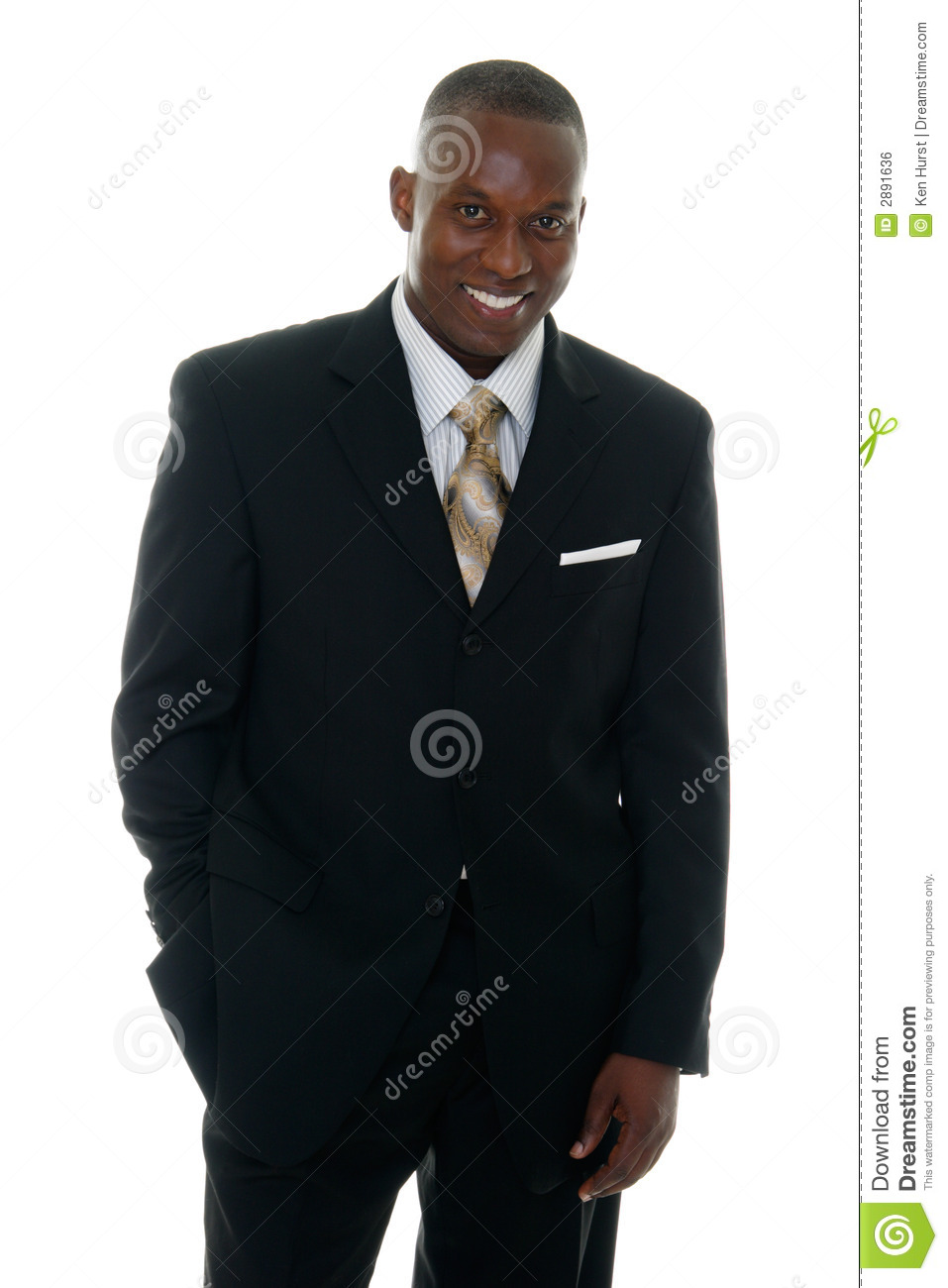 Business Man In Black Suit 3 Royalty Free Stock Image - Image: 2891636