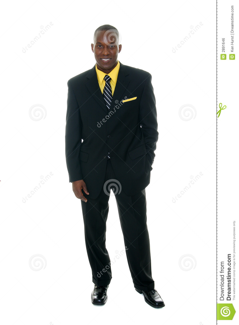Business Man In Black Suit 5 Royalty Free Stock Image - Image: 2891646
