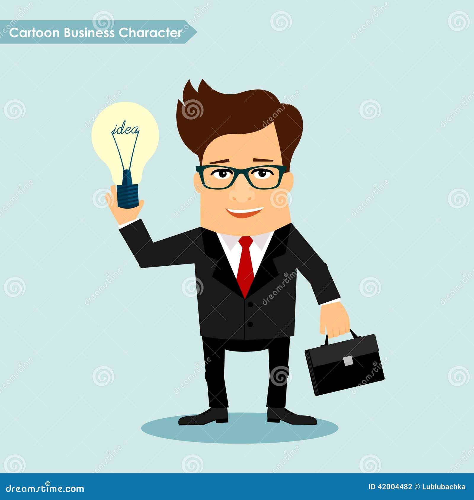 Cartoon Characters Vector : Business man cartoon vector character ankaperla