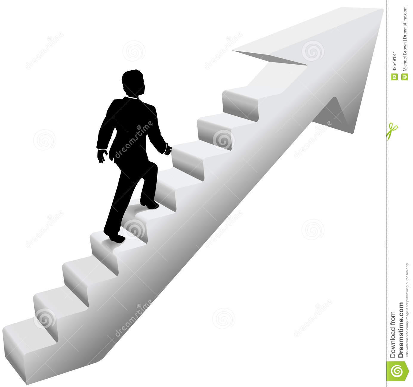 Business Man Climb Stairs Success Stock Vector - Illustration of ... for Climbing Stairs To Success  66pct