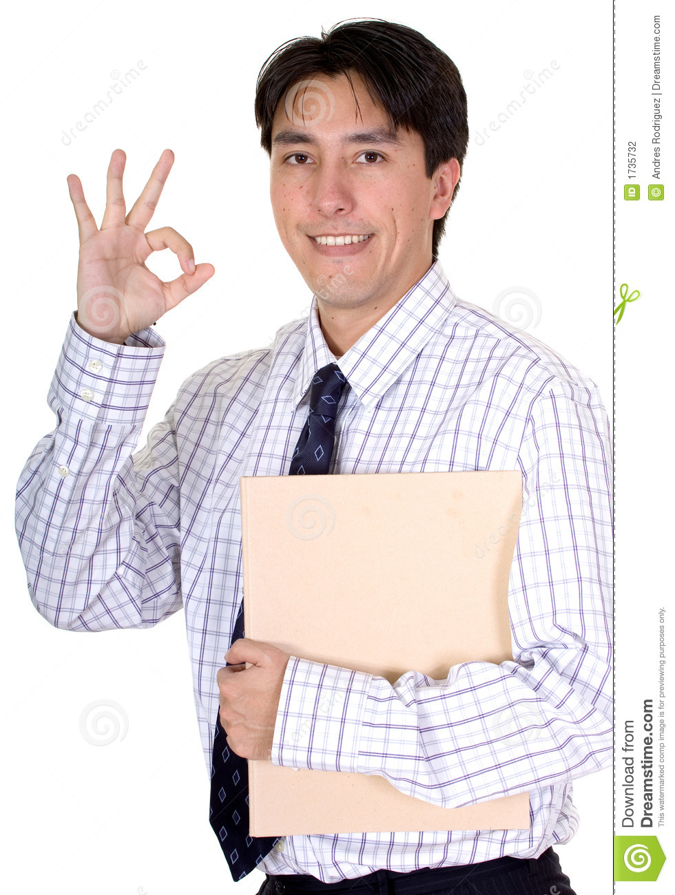 Business Man Good Job Stock Photo Image Of Latin Bonus